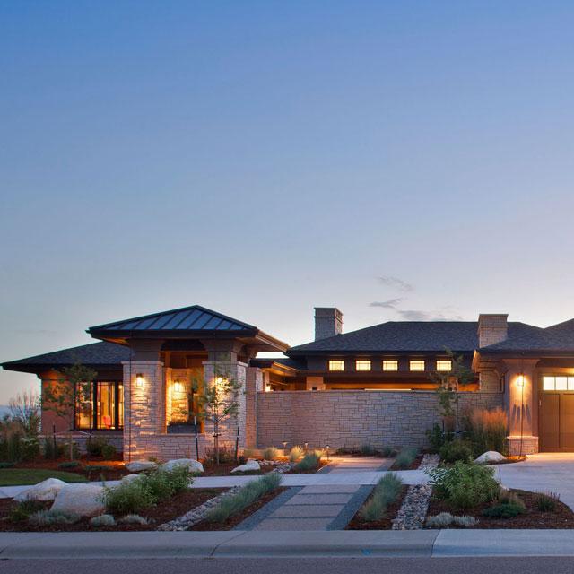 Contemporary to modern david hueter for David hueter home designs